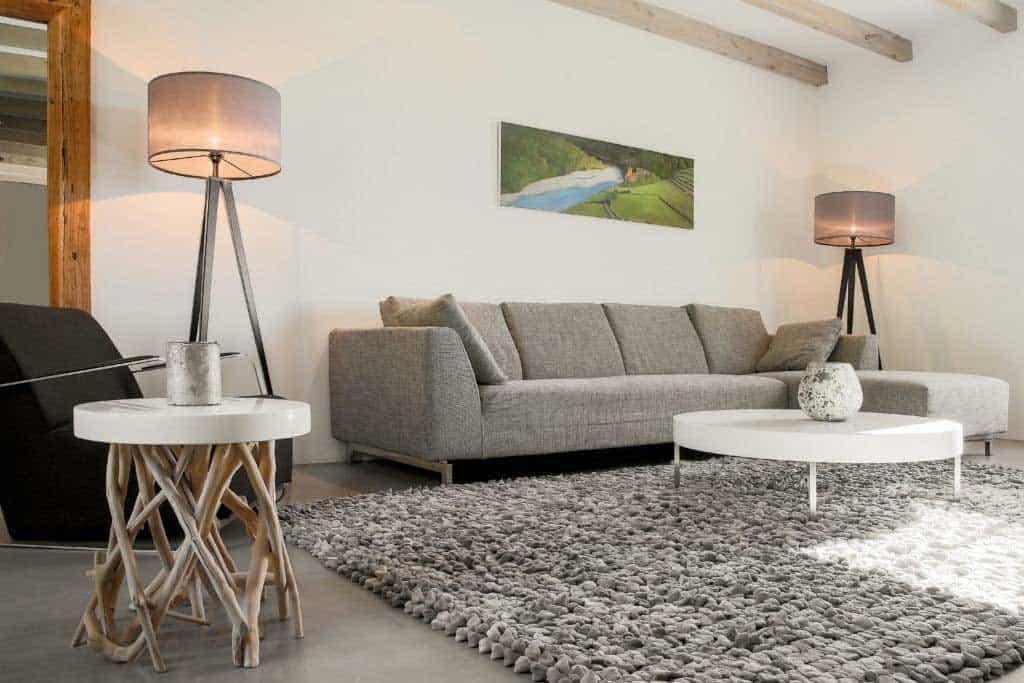 Living room holiday villa