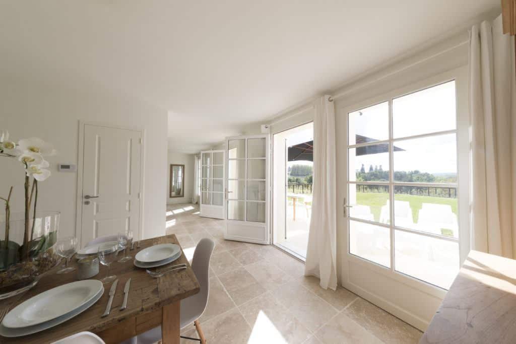Real estate villa interior