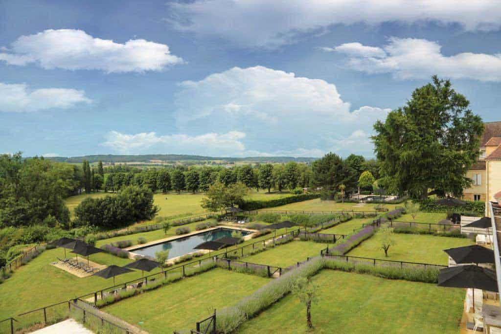garden villa rental dordogne