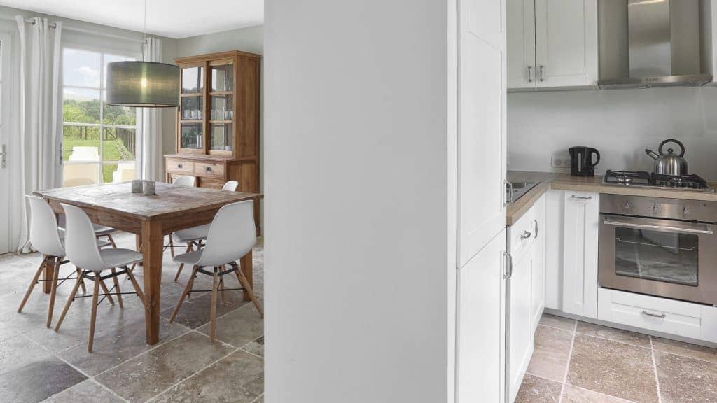 kitchen dining villa rent