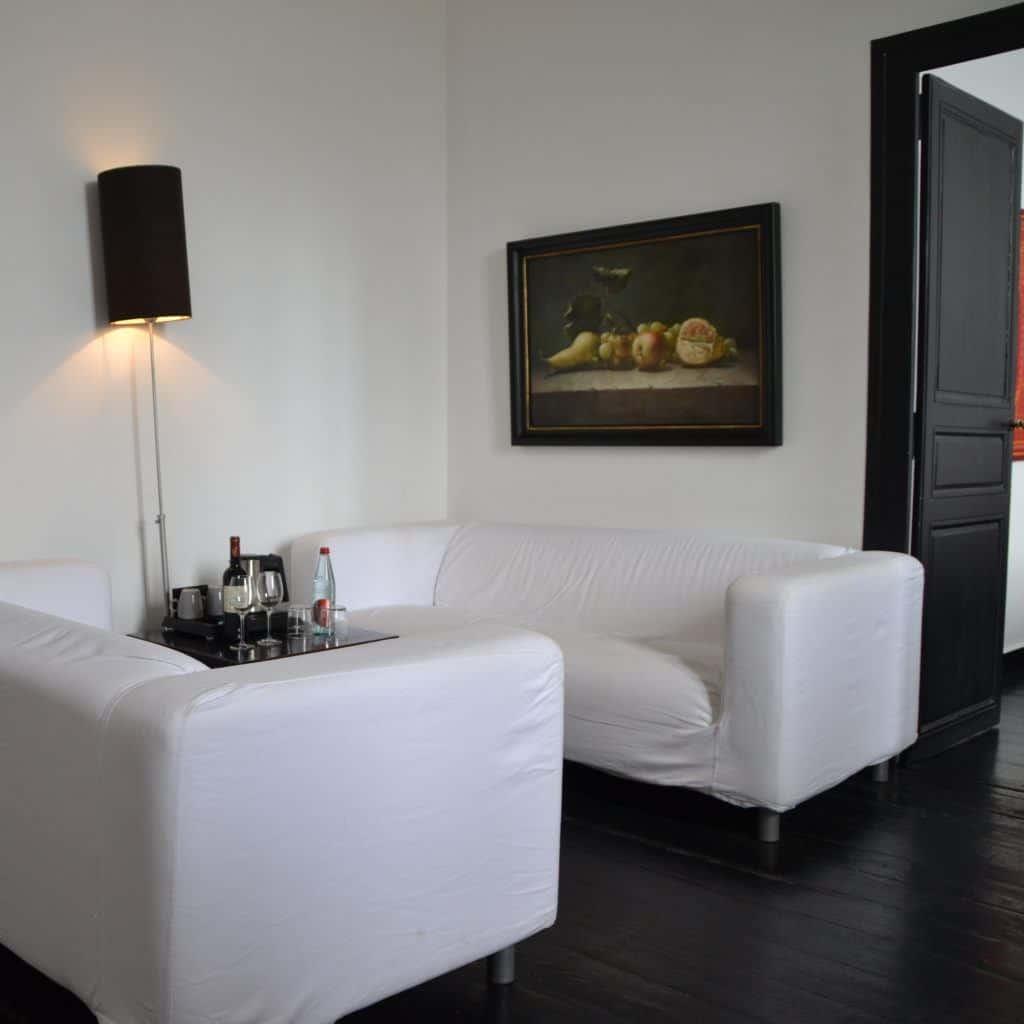 couches Hotel Chateau les Merles Dordogne
