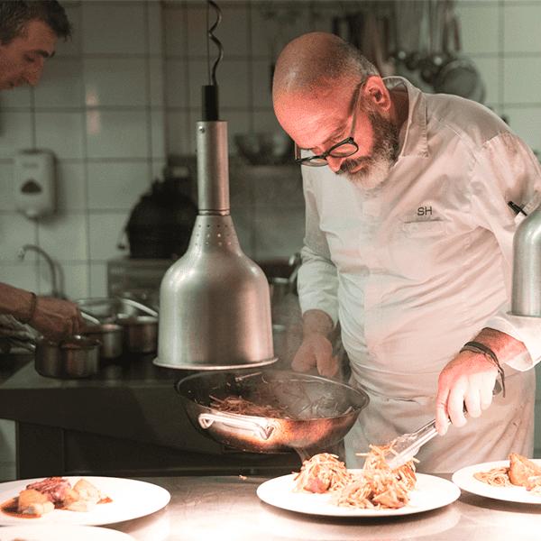 restaurant les merles chef Holten
