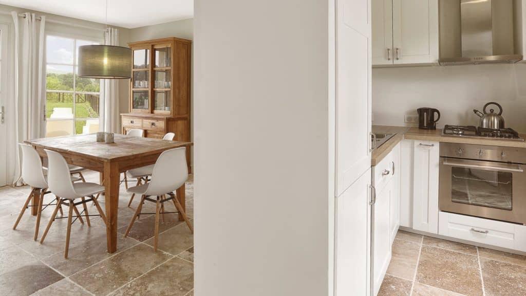 kitchen real estate Chateau les Merles Dordogne