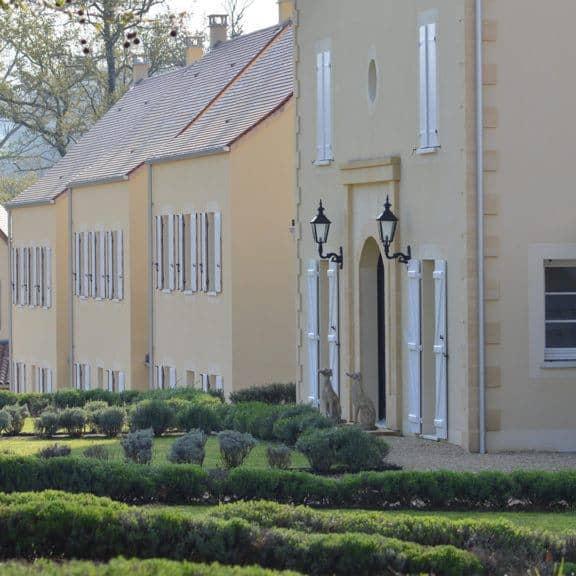 front view villas for sale chateau les merles