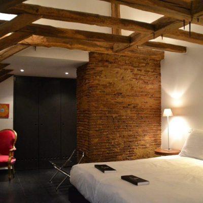 Luxury double room Chateau les Merles Dordogne