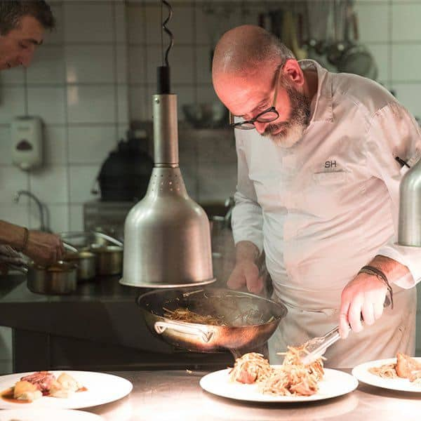 Chef Bas Holten Les Merles