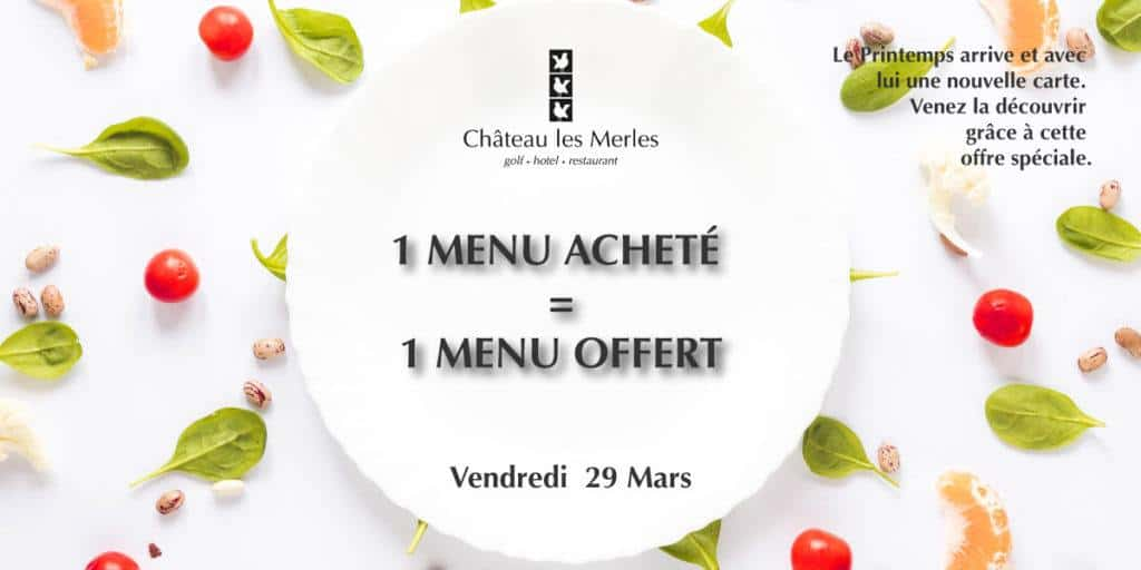 special offer chateau les merles