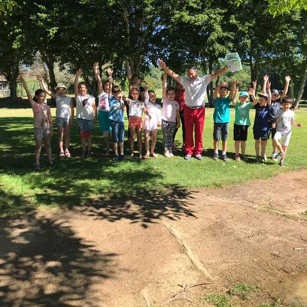ecole golf enfants