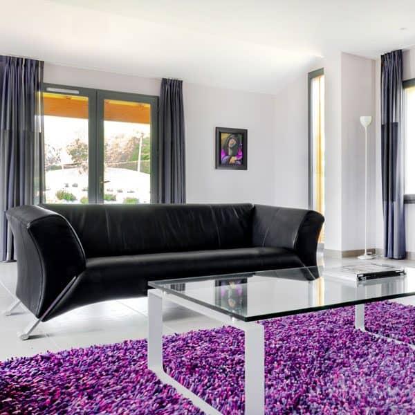 living room 2 villa 8 chateau les merles