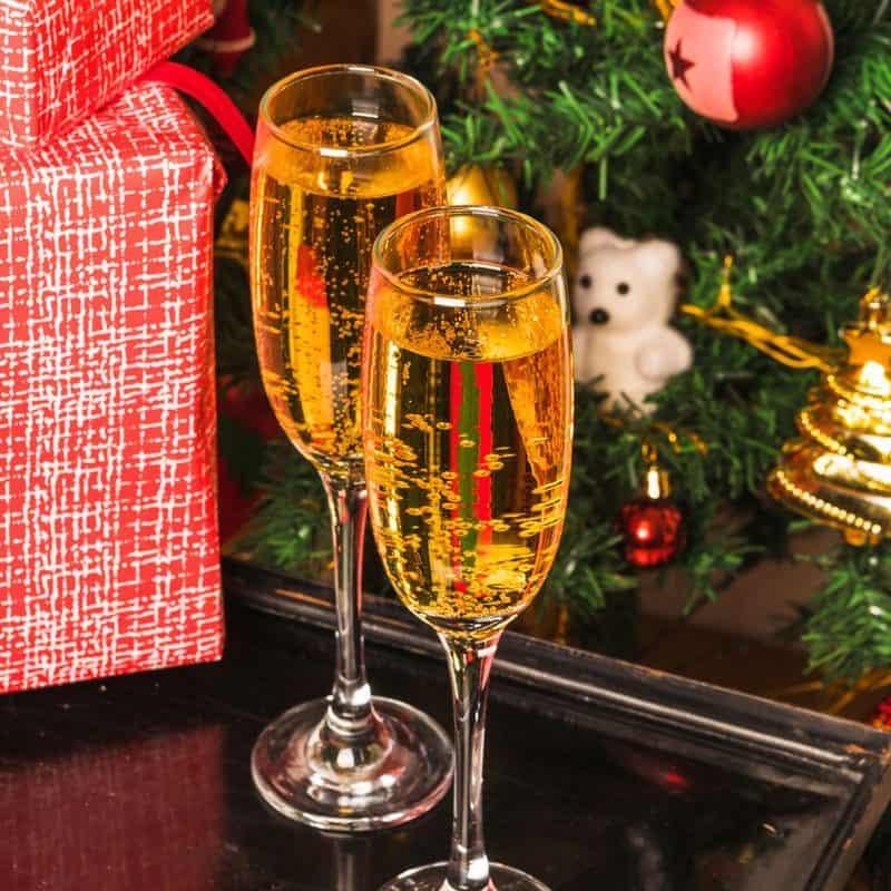 christmas header chateau les merles