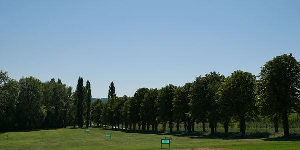 driving range of Golf Hotel chateau les merles