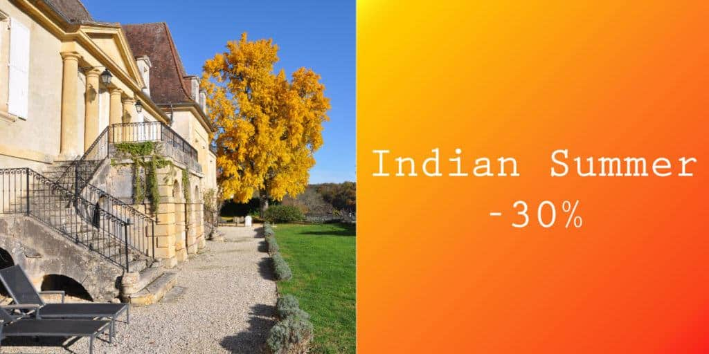 indian summer offer chateau les merles